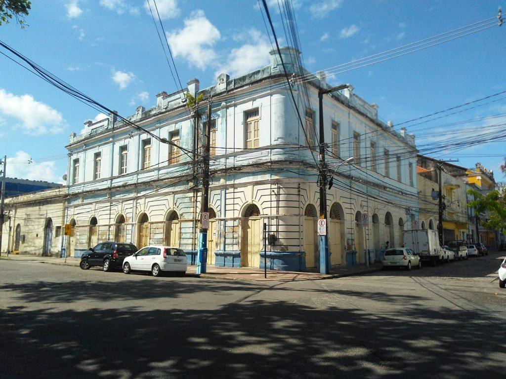 Rua do Brum com a Rua do Observatório, no Bairro do Recife, centro do Recife. Foto de Bráulio Moura
