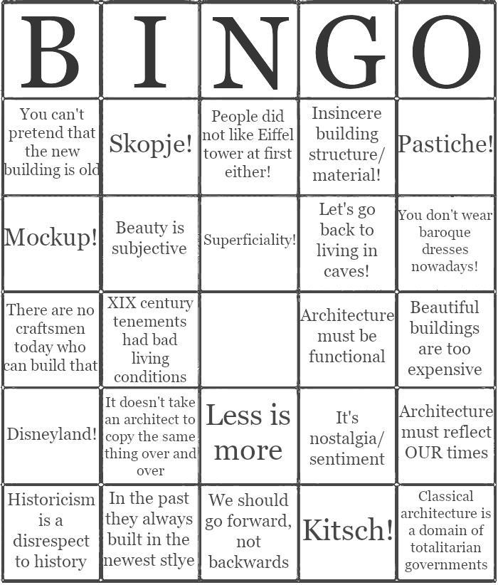 Bingo Modernista