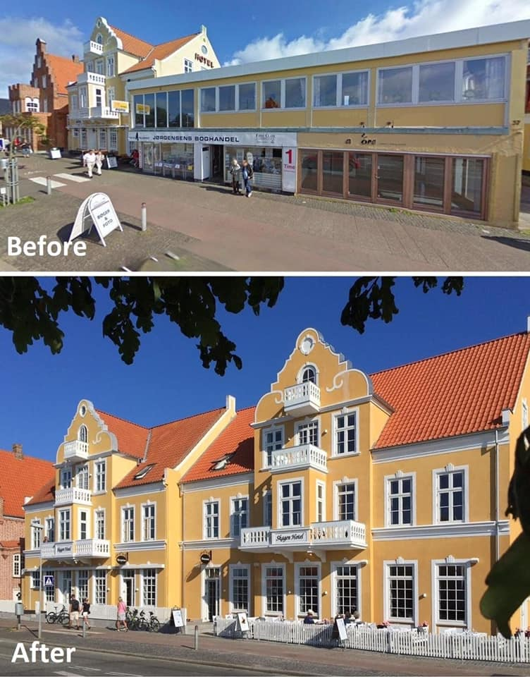 Hotel Dinamarquês Reconstruído